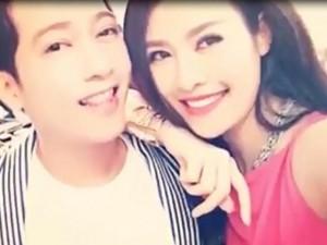 Phim - Trường Giang bị tung clip toàn ảnh thân mật với cô gái khác