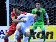 Bóng đá - Thắng Tajikistan 8-1, tuyển futsal Việt Nam vào tứ kết châu Á