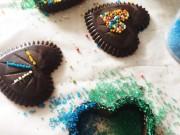 Ẩm thực - Tự làm kẹo socola trái tim tặng người ấy dịp Valentine