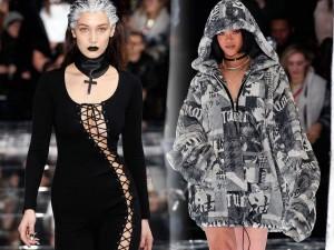 Thời trang - Gigi Hadid gợi cảm, cá tính khi diễn đồ của Rihanna