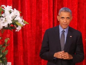 Thế giới - Obama tỏ tình mùi mẫn với vợ trên sóng truyền hình