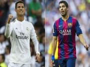 Bóng đá - Vua phá lưới Liga: Ronaldo khó lòng bắt kịp Suarez