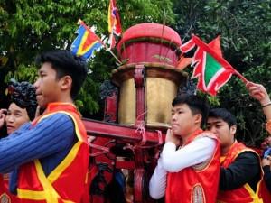 Tin tức trong ngày - Ảnh: Độc đáo lễ rước kiệu xôi ở Hà Nội