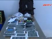 """An ninh Xã hội - Siêu trộm đột nhập """"khoắng"""" sạch cửa hàng điện thoại"""
