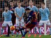 Bóng đá - Sút phạt trực tiếp: Messi hay nhưng vẫn thua CR7