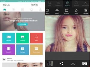 2 ứng dụng làm đẹp ảnh trên smartphone
