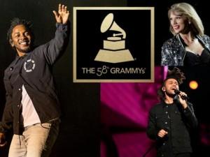 10 lý do không thể bỏ lỡ lễ trao giải Grammy 2016