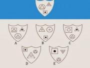 Giáo dục - du học - Bài toán tìm hình phù hợp với quy luật