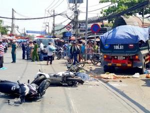 """Tin tức trong ngày - Tài xế xe """"điên"""" gây tai nạn kinh hoàng ở TPHCM ra trình điện"""