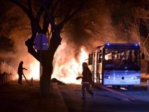 Thế giới - Bom nổ rung chuyển Thổ Nhĩ Kỳ, 28 quân nhân thiệt mạng