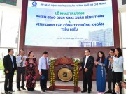 Tài chính - Bất động sản - Việt Nam lần đầu tiên có Ngày Chứng khoán