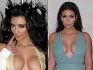 Thời trang - Kim 'siêu vòng 3' tự tin mặc váy hở nhờ... băng dính