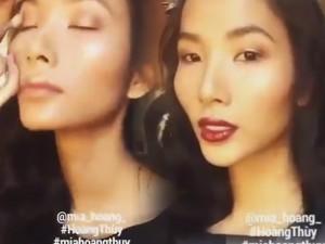 Làm đẹp - Bí quyết trang điểm đẹp của người mẫu Hoàng Thùy