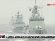 Video An ninh - Tàu TQ ngang nhiên đi vào vùng biển tranh chấp với Nhật