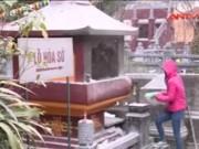 """Video An ninh - """"Bà hỏa"""" bị triệt tận gốc tại lễ hội chùa Hương"""