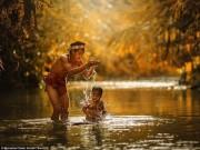 Du lịch - Cuộc sống kỳ bí của bộ lạc xăm mình ở Indonesia