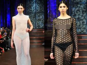 """Thời trang - Váy áo """"mặc như không"""" vẫn thống trị sàn diễn New York"""