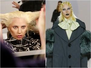 """Thời trang - Lady Gaga không thể """"quái"""" hơn khi thử sức với catwalk"""