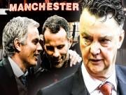 Bóng đá - Van Gaal, Mourinho và Giggs: Đi thẳng là ngõ cụt