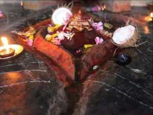 Thế giới - Kỳ lạ đền thờ bộ phận sinh sản nữ thần ở Ấn Độ