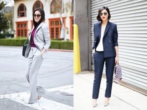 Thời trang - Bí quyết để quý cô công sở đẹp mê hoặc với suit