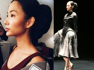 Thời trang - Hoàng Thùy quá khác lạ ở Tuần lễ thời trang London