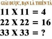 Giáo dục - du học - Hãy tìm ra quy luật của bài toán: Giải được, bạn là thiên tài