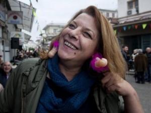 Lễ hội ngập tràn  của quý  ở Hi Lạp