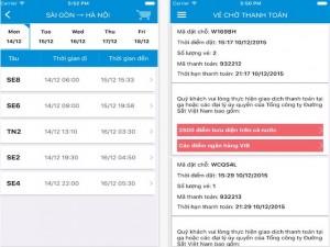 Công nghệ thông tin - ĐSVN phát hành ứng dụng đặt vé tàu trên smartphone