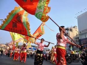 Ảnh: Lễ hội đường phố Tết Nguyên tiêu của người Hoa ở Sài Gòn