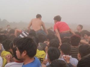 """Đánh nhau hội Phết, hỗn loạn đền Trần: """"Đôi khi thấy bất lực"""""""