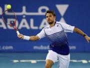 Thể thao - Dubai ngày 2: Wawrinka vất vả đi tiếp