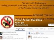 Video An ninh - Ủy ban ATGT nhận góp ý từ người dân qua Facebook