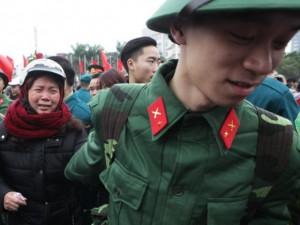 Tin tức trong ngày - Giây phút xúc động tiễn tân binh lên đường nhập ngũ
