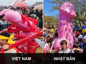 Lễ hội rước  của quý : Việt Nam không bắt chước Nhật Bản