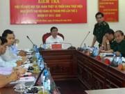 """Tin tức Việt Nam - Bí thư Đinh La Thăng: """"Làm những việc dân cần…"""""""