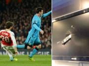 Bóng đá - Fan cuồng phá nát tivi vì Arsenal là nữ VĐV nổi tiếng