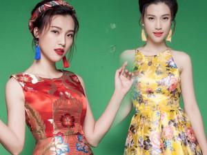 Thời trang - Á hậu Hoàng Oanh gợi ý mix đồ cho phái đẹp đầu xuân