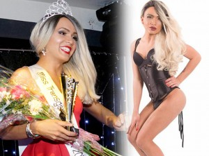 Thời trang - Hoa hậu chuyển giới Anh bị tước ngôi vì mặc soóc nam