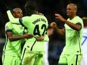 """Bóng đá - Man City thắng lớn, Kompany như đi """"trên mây"""""""