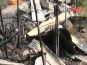 Video An ninh - Cháy nhà trong đêm, con dâu thoát chết, bố chồng tử nạn
