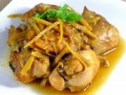 Ẩm thực - Thịt gà kho gừng thơm cay ngon tuyệt