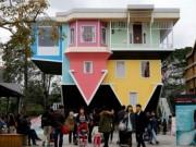 """Du lịch - Khám phá ngôi nhà """"lộn ngược"""" độc đáo ở Đài Loan"""