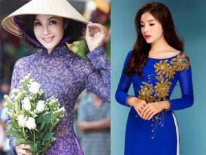 Thời trang - Chọn áo dài sành điệu như phái đẹp Sài thành