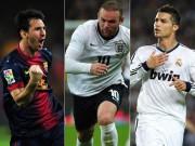 Bóng đá - Phản công thần tốc: Messi còn thua CR7 & Rooney