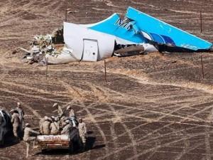 Ai Cập xác nhận máy bay Nga chở 224 người rơi do khủng bố