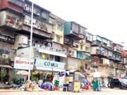 Tin tức trong ngày - Hà Nội: Dân không chịu di dời dù nhà chờ sập