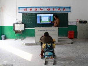 Thế giới - Trường chỉ có 1 học sinh, 1 giáo viên ở TQ