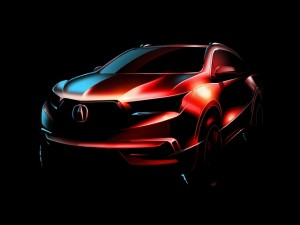 """Ô tô - Xe máy - Vén màn """"nhan sắc""""  Acura MDX 2017"""