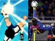 Bóng đá - Messi là hình mẫu của Tsubasa